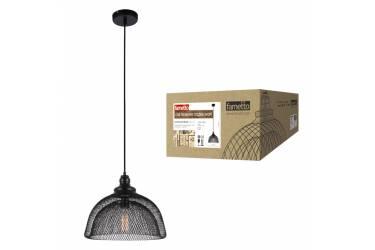 Светильник декоративный подвесной Uniel DLC-V202 E27 BLACK Fametto Vintage металл Ø370*1040