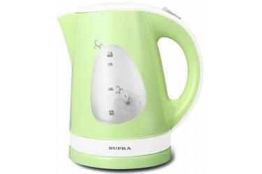 Чайник электрический Supra KES-1708 white/pistachio пластик 2200Вт 1,7 л