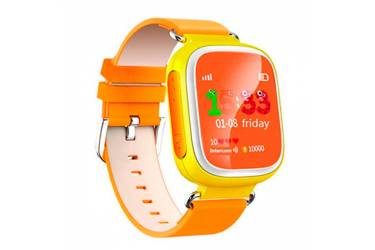 Умные часы Smart Baby Watch Q60s Yellow