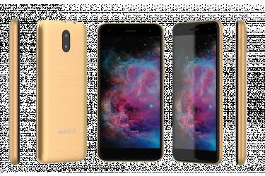 Смартфон Maxvi MS502 (Orion) gold