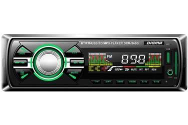 Автомагнитола Digma DCR-340G 1DIN 4x45Вт