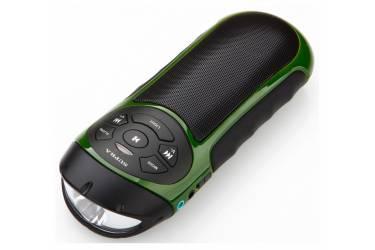 Аудиомагнитола Supra PAS-6277 зеленый/черный 3Вт/MP3/FM(an)/microSD