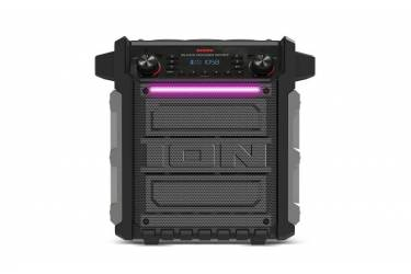 Колонка порт. ION Audio BLOCK ROCKER SPORT серый 100W 2.1 BT/3.5Jack
