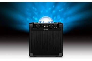 Колонка порт. ION Audio PARTY ROCKER PLUS черный 50W 2.1 BT/3.5Jack 30.5м 5000mAh