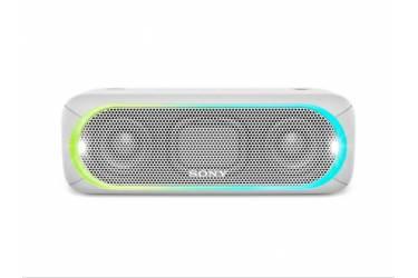 Колонка порт. Sony SRS-XB30 белый 30W Mono BT/3.5Jack 10м (SRSXB30W.RU4)