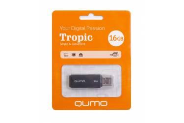 USB флэш-накопитель 16GB Qumo Tropic черный USB2.0
