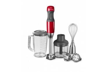 Блендер погружной KitchenAid 5KHB2571 серый/красный