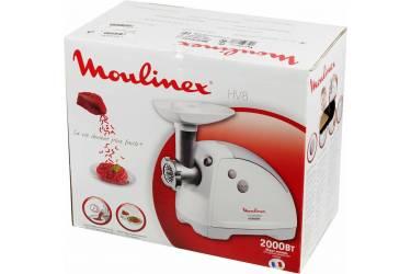 Мясорубка Moulinex HV8 ME620132 2000Вт белый
