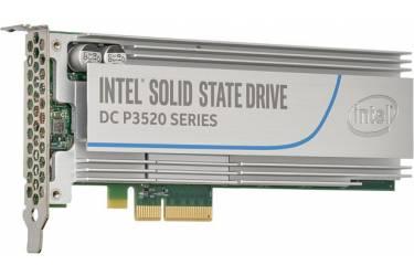 Накопитель SSD Intel Original PCI-E x4 1228Gb SSDPEDMX012T701 DC P3520 PCI-E AIC (add-in-card)
