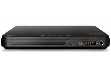 Плеер DVD BBK DVP033S темно-серый Караоке ПДУ