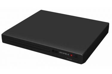 Плеер DVD Supra DVS-203X черный ПДУ
