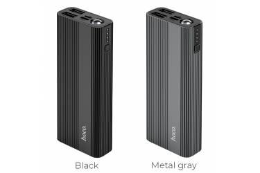 Внешний аккумулятор Hoco J54 Spirit power 10000 mAh metal gray