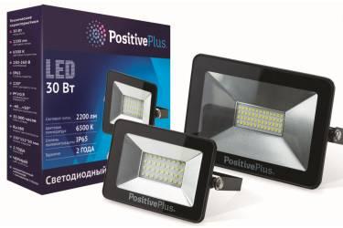 Светодиодный (LED) прожектор Экономка_POSITIVE PLUS _ SMD - 10W/6500K/IP65