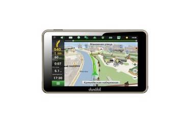 """Автомобильный навигатор GPS Dunobil Clio5.0 5"""" Навител"""
