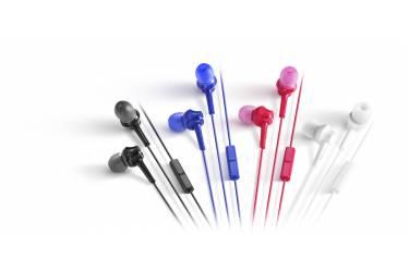 Наушники Panasonic RP-TCM105E-A внутриканальные с микрофоном розовые