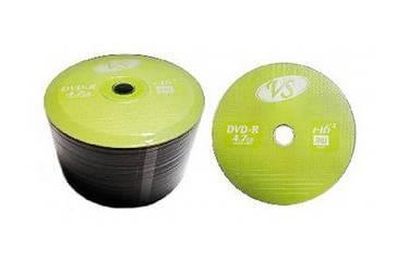 Диск DVD-R Vs 4,7GB 16x Bulk/50