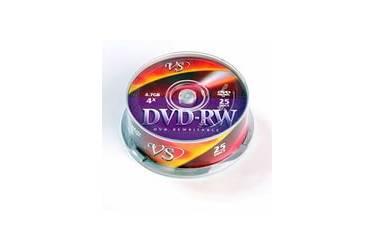 Диск DVD-RW Vs 4,7GB 4x CB/25