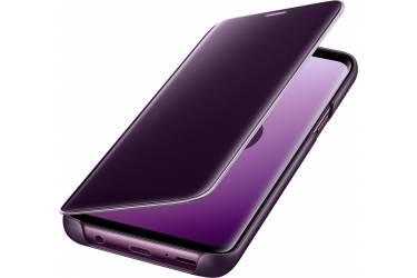Оригинальный чехол (флип-кейс) для Samsung Galaxy S9 Clear View Standing Cover фиолетовый (EF-ZG960CVEGRU)