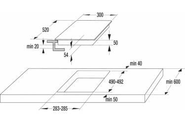 Индукционная варочная поверхность Gorenje IT321KR белый