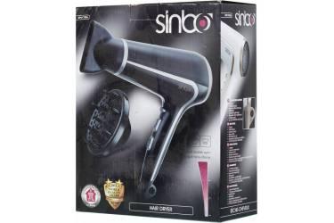Фен Sinbo SHD 7036 2000Вт черный/серебристый