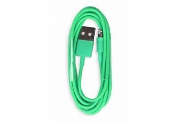 Кабель USB Smartbuy Apple 8 pin цветные, длина 1,2 м, зеленый