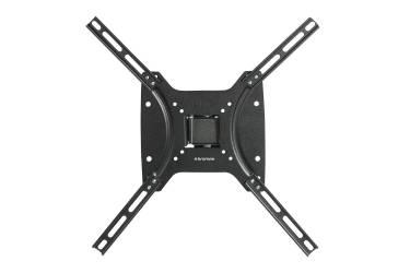 """Кронштейн с 2 степенями свободы Kromax Optima-402 черный (max 56"""" 25kg)"""