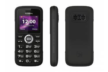 Мобильный телефон teXet TM-B219 черный