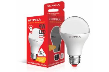 Лампа светодиодная SUPRA_ ECO_A60-09W/3000/E27 _стандарт