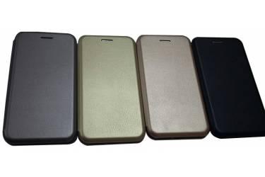 Чехол-книга Iphone X (кожа) черная