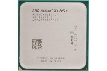 Процессор AMD Athlon X4 840K FM2+ (AD840XYBJABOX) (3.1GHz/5000MHz) Box