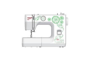 Швейная машина Janome Legend LE15 белый/цветы (кол-во швейных операций-9)