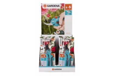 Секатор контактный Gardena B/S-M черный/синий (08853-30.000.00)