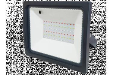 Светодиодный (LED) прожектор FOTON_ RGB - 100W/6400K/IP65 _RGB с пультом