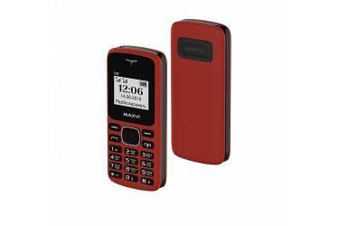 Мобильный телефон Maxvi C23 red-black (Без зарядки)