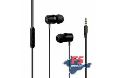 Наушники Promate Travi внутриканальные с микрофоном (black)