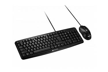 наб CANYON CNE-CSET1-RU, USB standard KB, water resistant RU layout bundle with optical 3D wired
