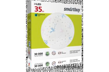 Светодиодный потолочный светильник (LED) Smartbuy-35W _2100лм_450*120мм_Flora