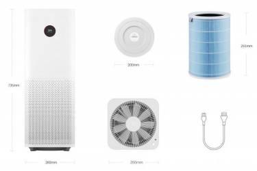 Очиститель воздуха Xiaomi Mi Air Purifier Pro (AC-M3-CA)