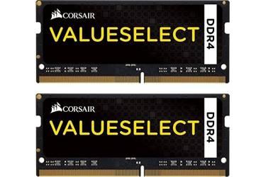 Память DDR4 2x8Gb 2133MHz Corsair CMSO16GX4M2A2133C15 RTL PC4-17000 CL15 SO-DIMM 260-pin 1.2В