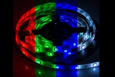 Лента светодиодная LS 50RGB-30/33 30LED 7.2Вт/м 12В IP33 мультиколор ASD