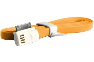 Кабель USB Smartbuy Apple 8 pin магнитный, длина 1,2 м, оранжевый