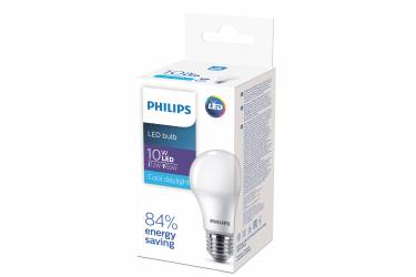 Лампа светодиодная PHILIPS_HV ECO_A60_10W/6500_E27 _стандарт