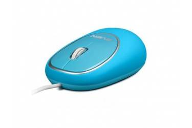 mouse Sven RX-555 Antistress Silent, USB, синяя