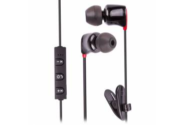 Наушники беспроводные (Bluetooth) Ritmix RH-430BTH внутриканальные c микрофоном черные