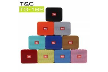 Беспроводная (bluetooth) акустика Portable TG166 Голубой