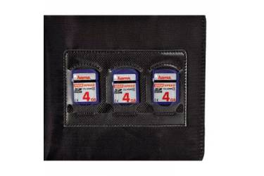 Портмоне Hama на 24CD/DVD Ready for Business H-95606 черный (упак.:1шт)
