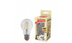 Светодиодная (LED) Лампа FIL (прозрачная) ЭКО_Экономка-A60-10W/2700/E27 _стандарт