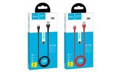 Кабель USB Hoco X45i Surplus Lightning (красный)