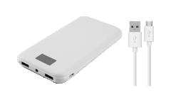 Внешний аккумулятор Continent 8000 mAh PWB80-262WT (box1) White