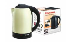 Чайник электрический Чудесница ЭЧ-2027 нержавейка бежевый 2200Вт 1,7л